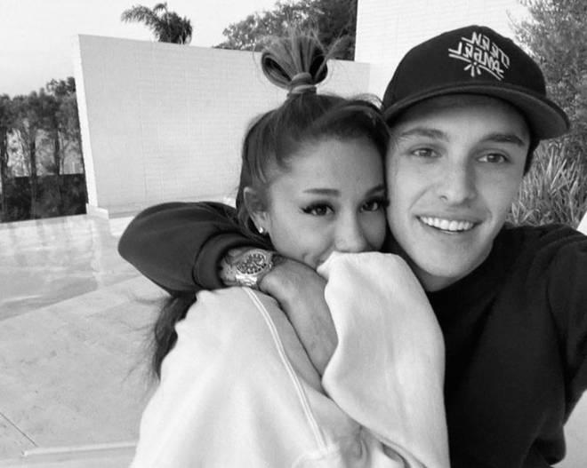 Ariana Grande and boyfriend Dalton Gomez