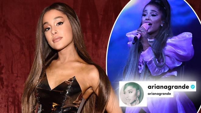 Ariana Grande has TikTok but doesn't use it