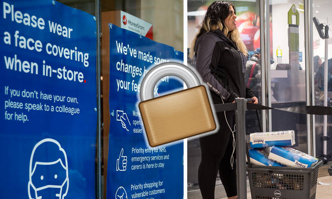 Supermarket rules for lockdown 2