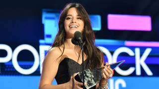 Camila Cabello won the AMA for New Artist