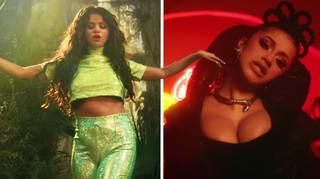 Selena Gomez and Cardi B in the new 'Taki Taki' music video