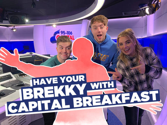 You can join Capital Breakfast with Roman Kemp