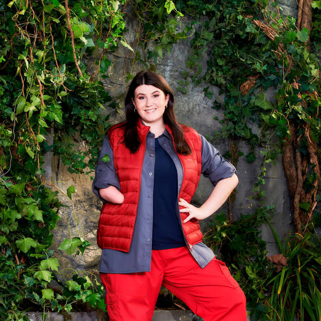 Hollie Arnold is hoping to inspire people on I'm A Celebrity