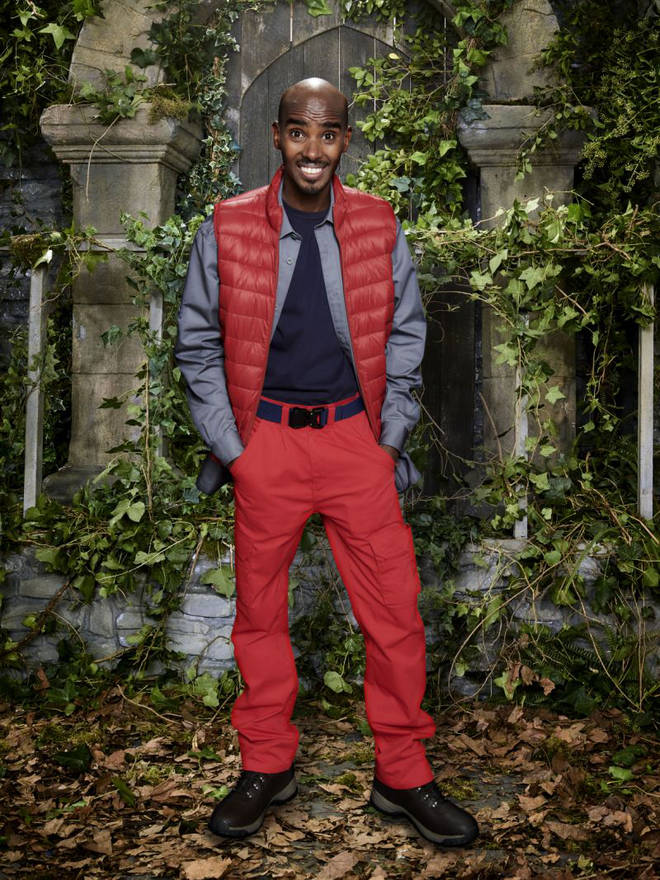 Sir Mo Farah is hoping to win I'm A Celebrity, this year