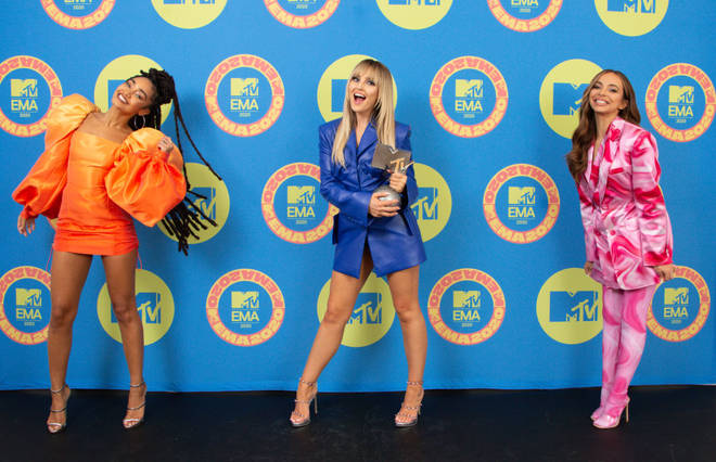 Little Mix scooped two awards at the EMAs