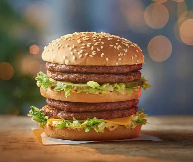 McDonald's launch double Big Mac on 2020 festive menu