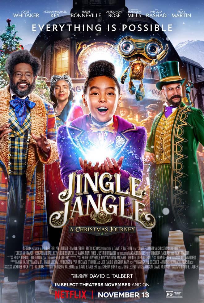 Jingle Jangle: A Christmas Journey is tipped to become a Christmas classic