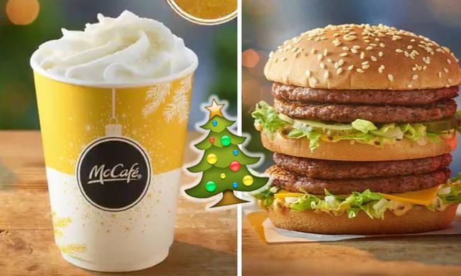McDonald's unveil Christmas menu