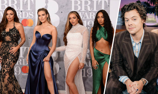 Harry Styles features on Little Mix's song 'Breathe'