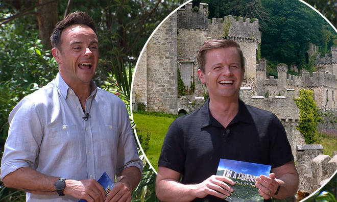 The I'm A Celeb castle is in North Wales