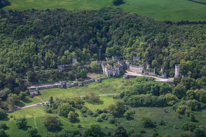 Gwrych Castle is believed to be haunted