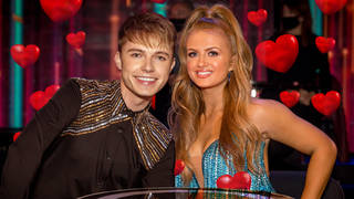 HRVY hinted at a relationship with Strictly's Maisie Smith
