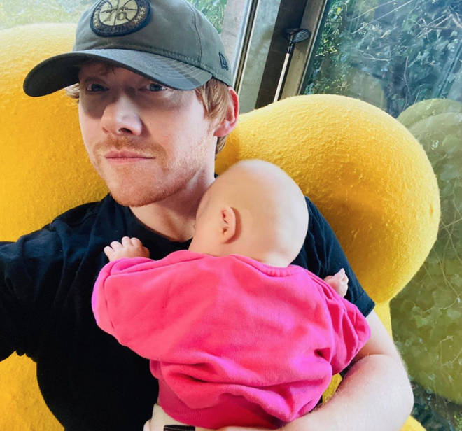 Rupert Grint is finally on Instagram! And just look at his adorable baby girl...