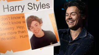 Harry Styles's yearbook entry revealed on TikTok