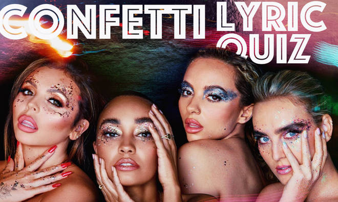 Can you match the lyric to 'Confetti' track?