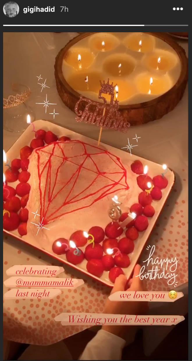 Gigi Hadid celebrates Zayn's mum's birthday