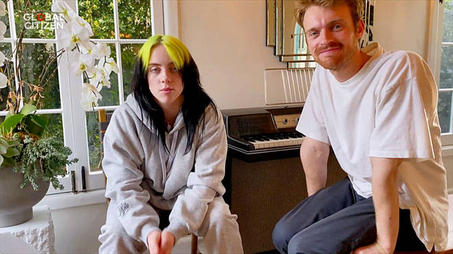 Billie Eilish and her brother Finneas write her songs together