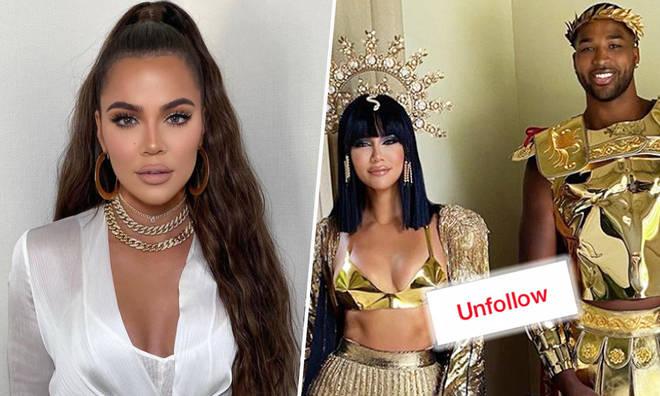 Khloé Kardashian unfollows Tristan Thompson on Instagram