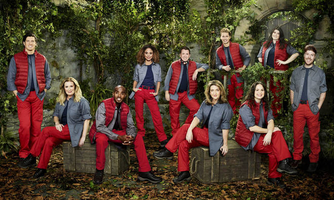 The cast of I'm A Celeb 2020