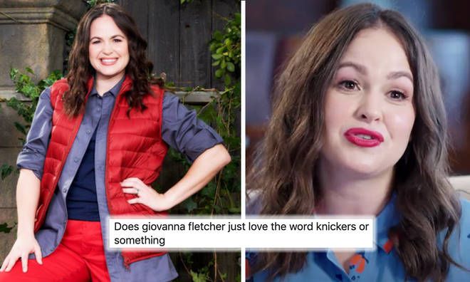 Giovanna Fletcher spawns drinking game with 'knickers' comments
