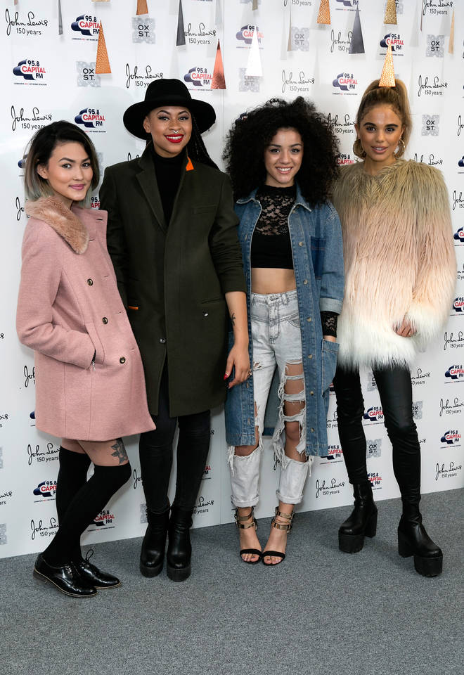 Neon Jungle were together for three years
