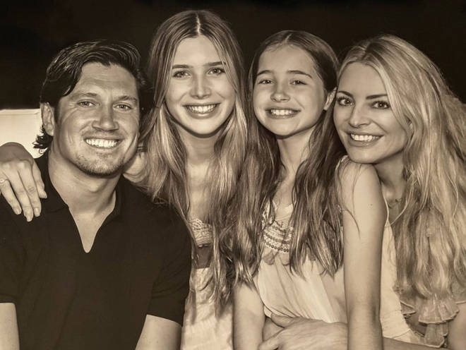 Vernon Kay and Tess Daly share two daughters.