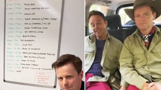 Ant & Dec reveal their tiring 'I'm A Celebrity' schedule