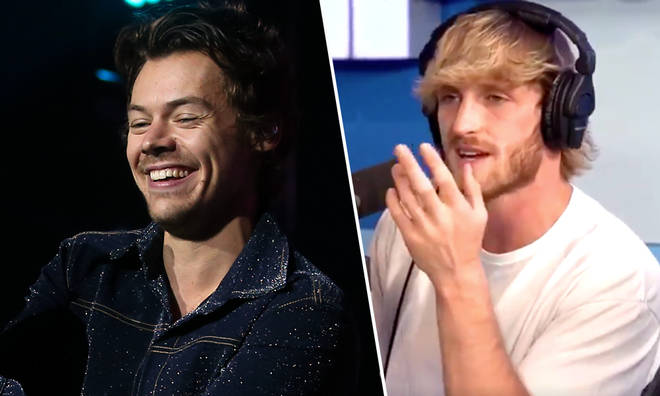 Harry Styles defended by Logan Paul