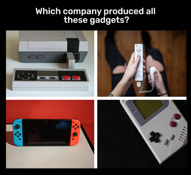 Which company produced all these gadgets?