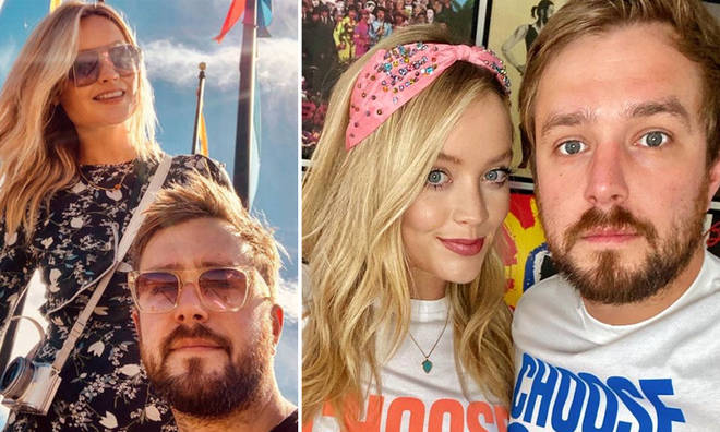 Iain Stirling and Laura Whitmore could be husband and wife.