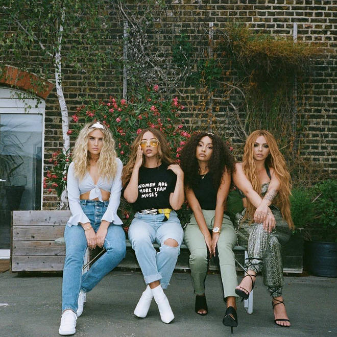 Little Mix's 'Woman Like Me' features a hidden vocal hook from Ed Sheeran