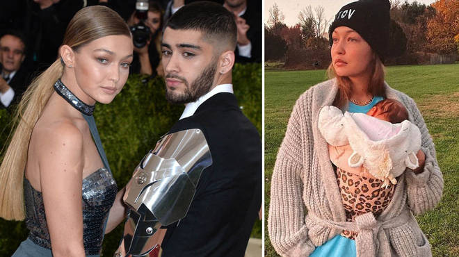Gigi Hadid and Zayn Malik are yet to reveal their baby name