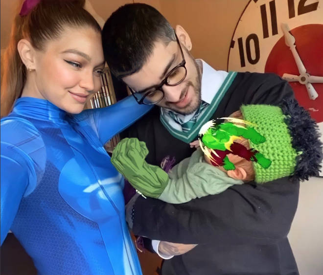 Gigi Hadid and Zayn Malik have shared a few photos of their baby girl