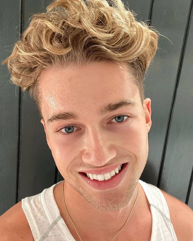 AJ Pritchard is currently starring on I'm A Celebrity.
