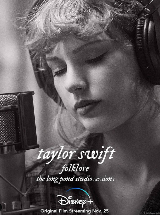 Taylor Swift performed 'Folklore' in a studio session for Disney Plus