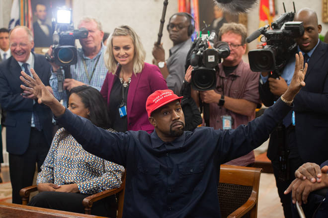 Kanye West ranted for 10 minutes in the Oval office, hugged Donald Trump calling him his bro