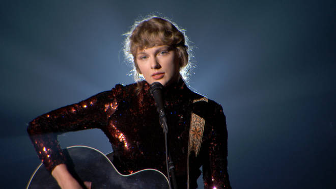 Taylor Swift is up for multiple awards at the Grammys 2021