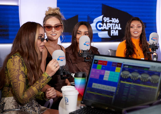 Little Mix joined Capital Breakfast to drop their new song 'Woman Like Me'