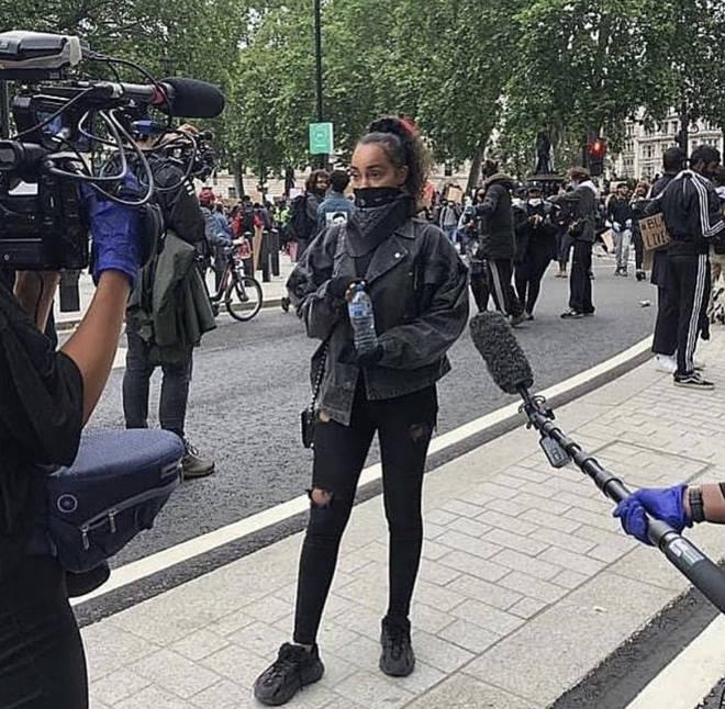 Leigh-Anne has filmed a documentary on racism