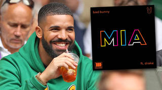 Drake teamed up with Bad Bunny on the new song 'MIA'