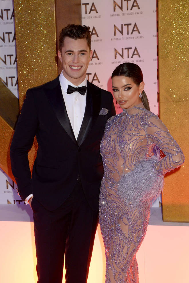 Maura Higgins and Curtis Pritchard dated for seven months