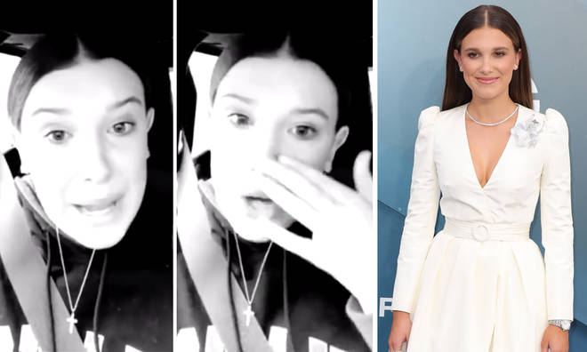 Millie Bobby Brown begs fans to respect her boundaries after horrible run in