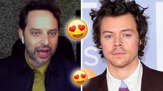 Harry Styles was the first to know co-star Nick Kroll was engaged