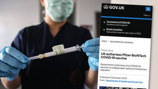 COVID-19 vaccine approved for use in the UK