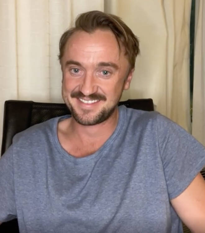 Tom Felton got emotional re-watching the first Harry Potter film