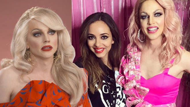 Courtney Act revealed all about her friendship with Jade Thirlwall.