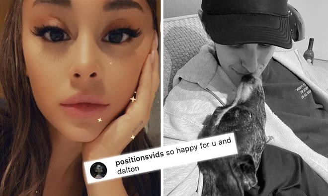 Fans happy to see Ariana Grande and Dalton Gomez so happy together