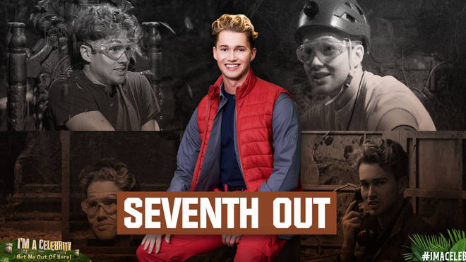 AJ Pritchard was seventh to be voted out of I'm A Celebrity