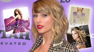 Taylor Swift is re-recording five albums