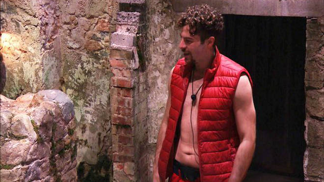 Shane Richie pointed out Jordan North's six pack